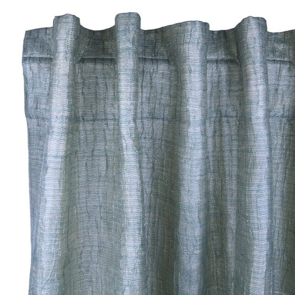 ANN GISH & THE ART OF HOME Sheer Curtain Panel NEW